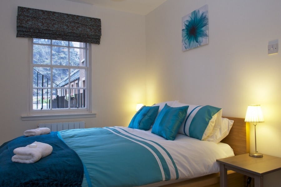 爱丁堡格拉斯广场城堡景度假公寓 – Grassmarket 5 Apartment